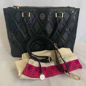LIKE NEW! Tory Burch Robinson Patchwork Tote